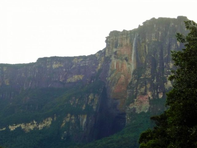 We were getting closer to Angel Falls Venezuela