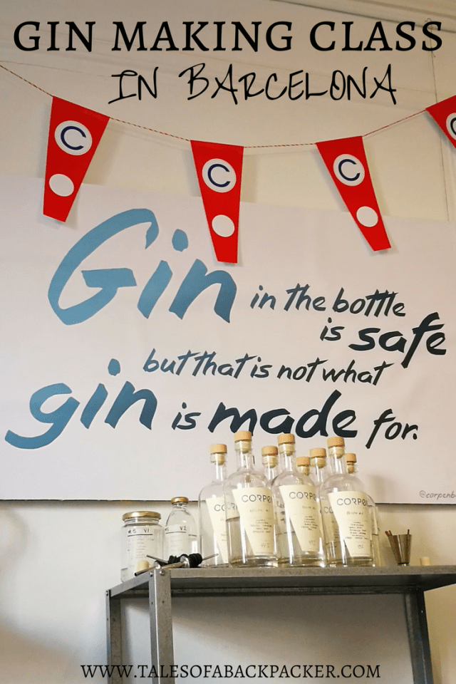 Corpen Distillers offer the chance for you to learn all about gin, and to make your own gin in their gin distillery class.  Corpen's 3-hour gin making class in Barcelona has even been named as one of the top Airbnb Experiences in the world, by Travel + Leisure magazine! #Gin #Ginlovers #Barcelona #Gintasting #Spain #Catalonia #Cocktails #GinMaking #ThingstodoinBarcelona #Travel #Foodanddrink #alcohol