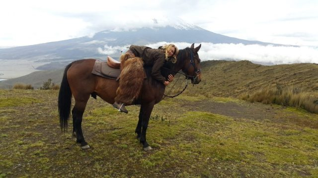 Horse Riding to Cotopaxi Volcano in Cotopaxi National Park Ecuador