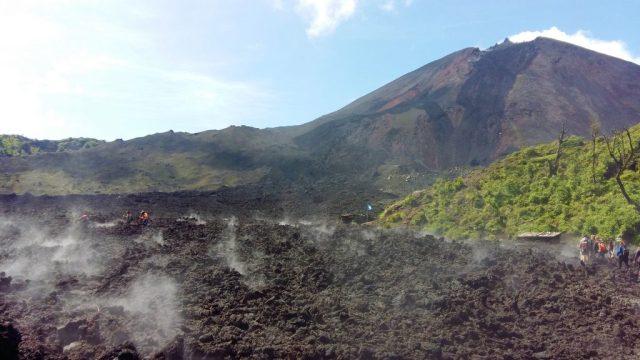 Pacaya Volcano & lava flow with the Lava Store near Antigua Guatemala