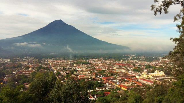 What to do in Antigua Guatemala - The View from Cerro de la Cruz