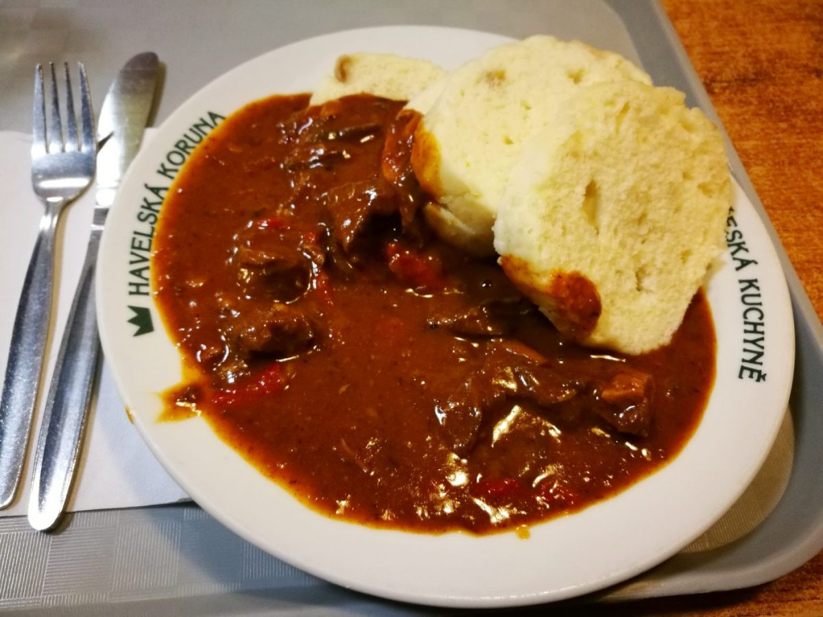 Cheap & Tasty food in the Old Town - What to do in Prague in 2 Days - A Prague 2 Day Itinerary