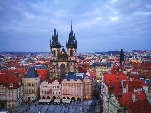 The Church of Our Lady before Tyn - What to do in Prague in 2 Days - A Prague 2 Day Itinerary