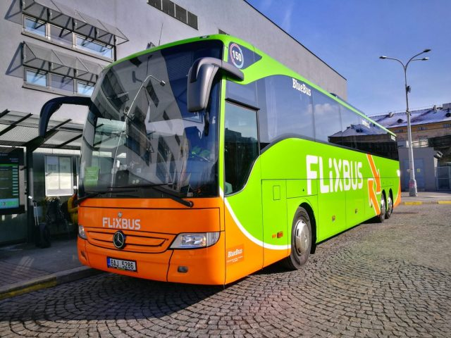 The Colourful Flixbus - Cheap Transport for a Prague to Cesky Krumlov Day Trip