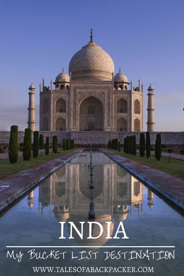 India is a place that has fascinated me for years, but I haven't had the chance to go yet. India is definitely on my bucket list, and here's why I think it should be on yours too! #Travel #India #Bucketlist #BackpackingIndia