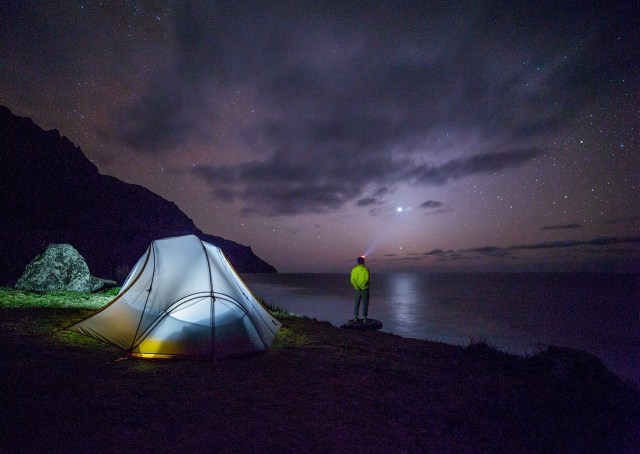 Camping Alone Safely - 7 Solo Camping Tips: Check the weather