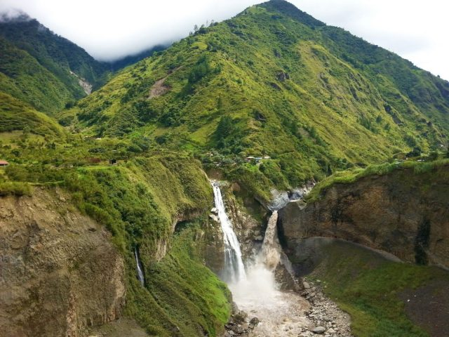 Waterfalls around Baños - Backpacking Ecuador Travel Guide