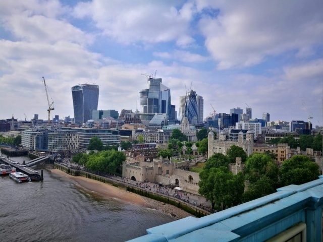 The View from London Bridge - London in 2 days itinerary