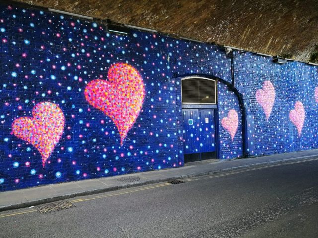 Apt street art for falling in love with London! - London in 2 days itinerary