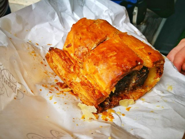 That incredible Sausage Roll on our Secret London Food Tour