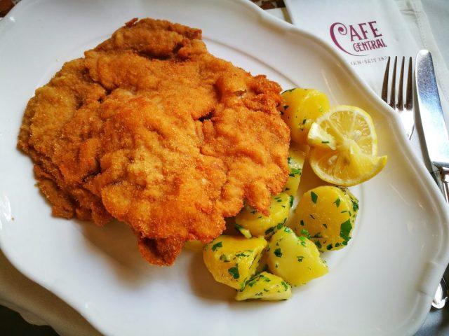 Wiener Schnitzel - What to eat in Vienna - must eat in Vienna