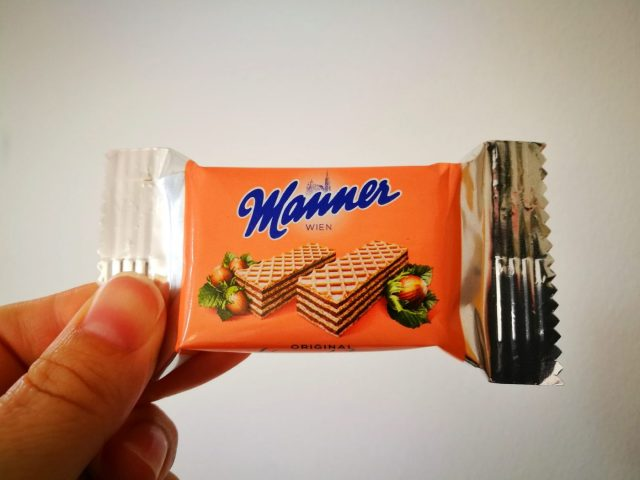 Manner wafer biscuits - What to eat in Vienna - must eat in Vienna