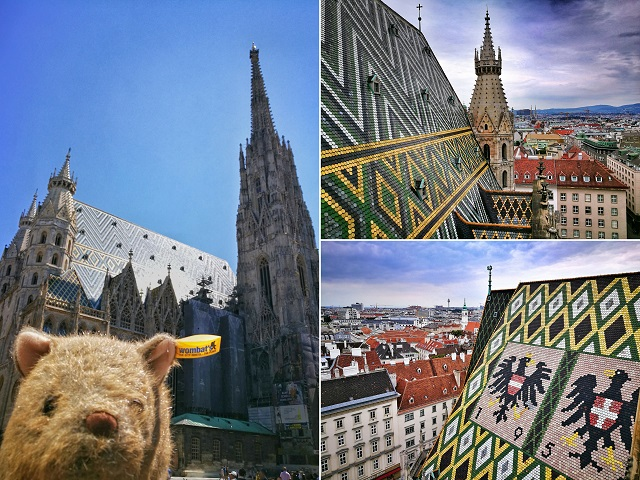 Where's Wagner Wombat - St Stephen's Cathedral. Places to visit in Vienna in 2 Days