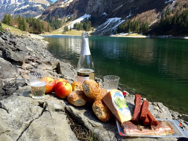 A Picnic in the Mountains - Eating in Switzerland on a Budget