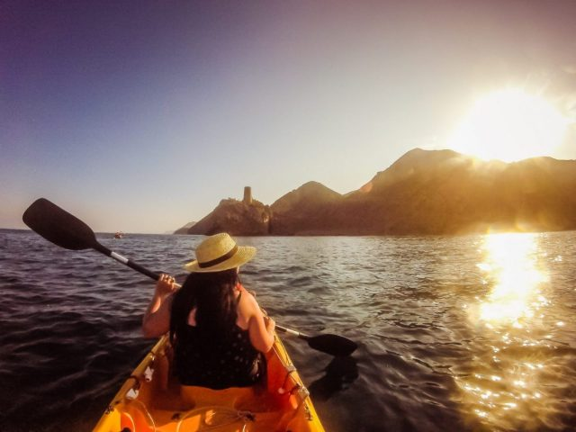 My Kayak partner Sophie: An Active Holiday in Spain - Things to do in Mojacar Spain