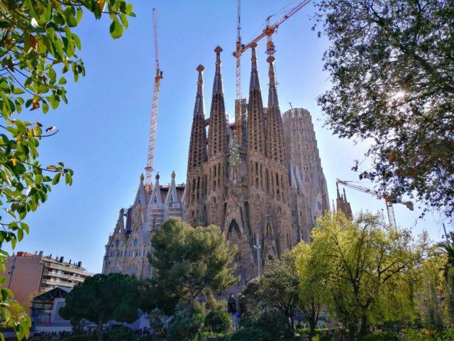 La Sagrada Familia, Barcelona - The Best Time to go to Europe