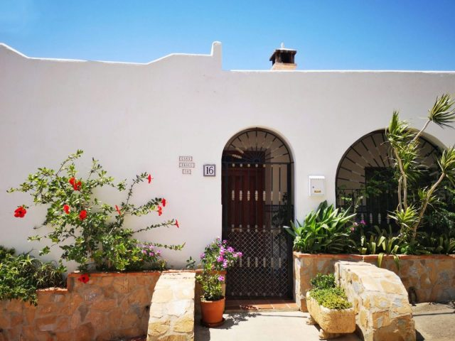 Every House in Mojacar Pueblo is so pretty!