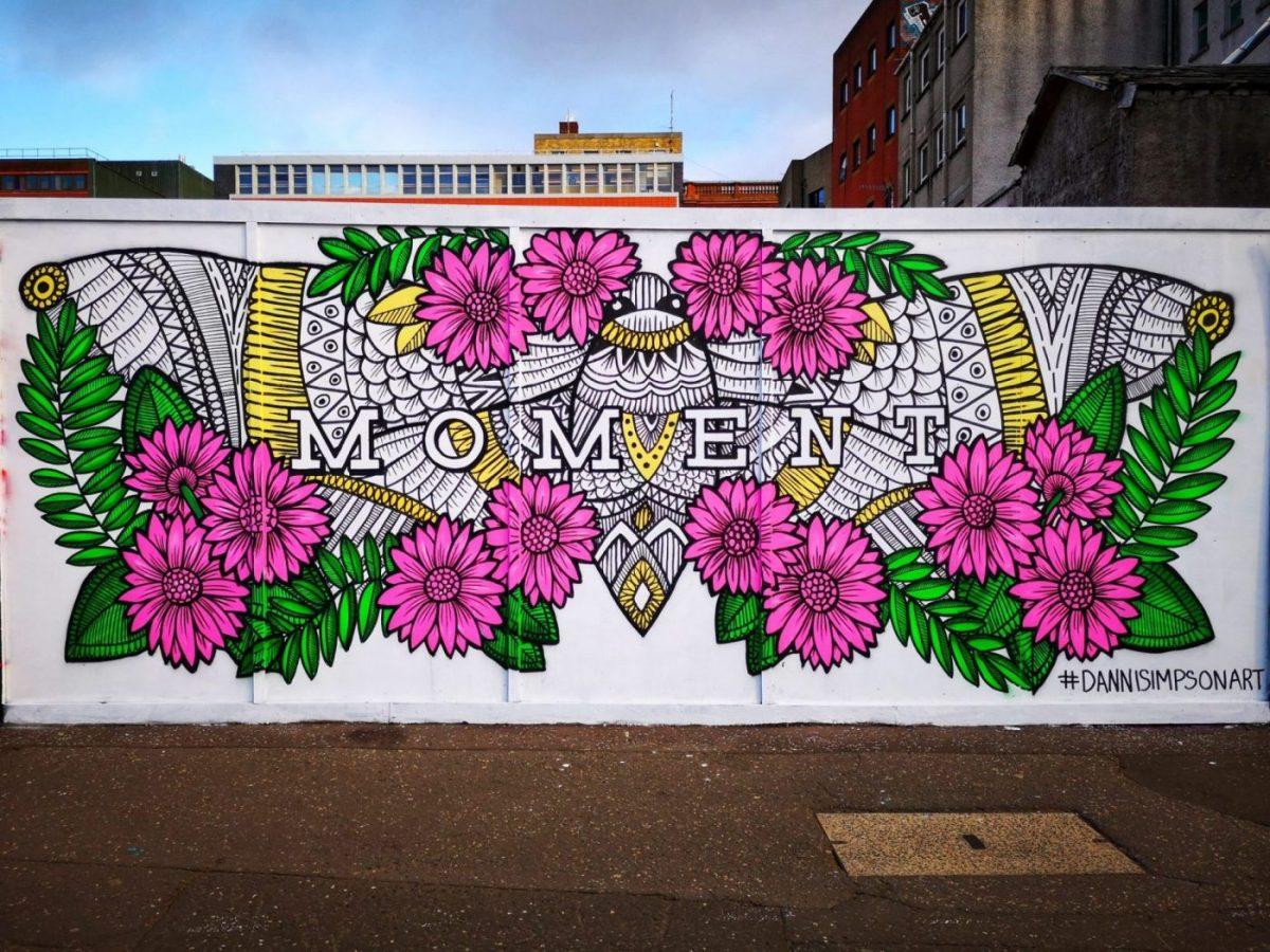 Belfast Street Art -more colourful art