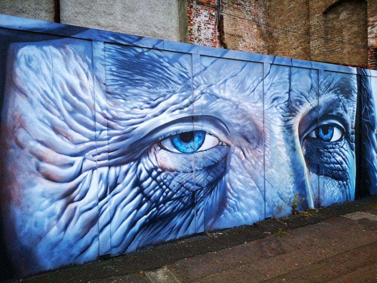 Belfast Street Art - Keeping an eye on you...