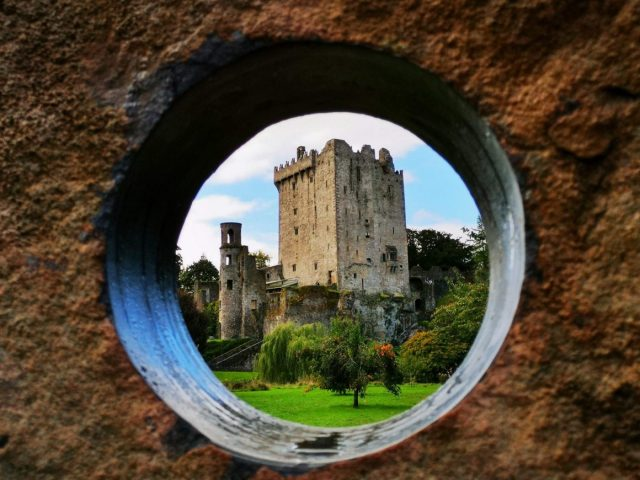 Framing a Photo of Blarney Castle
