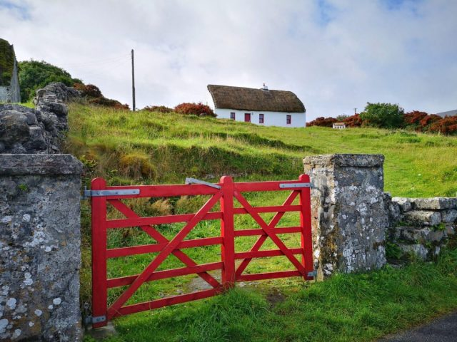 A Cute Cottage on Inishmore, with a Matching Fairy House - Shamrocker Irish Adventure Tours
