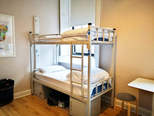 Where to Stay in Dublin on a Budget - My Bed at the Gardiner House Hostel