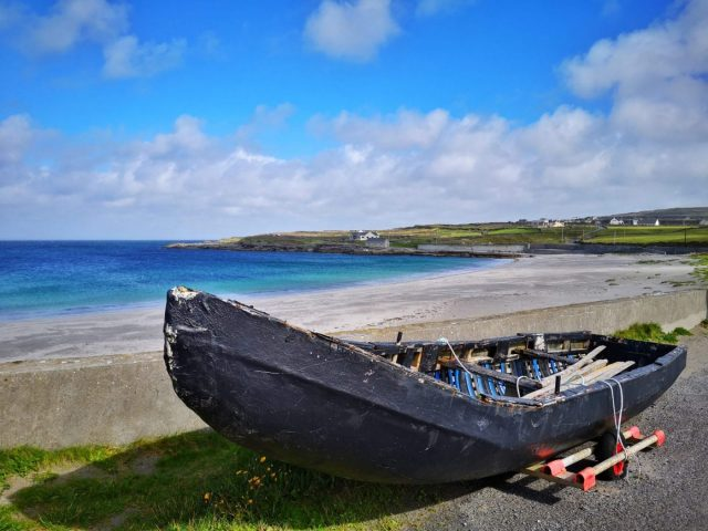 Kilmurvey Beach on Inishmore - Visiting the Aran Islands from Galway