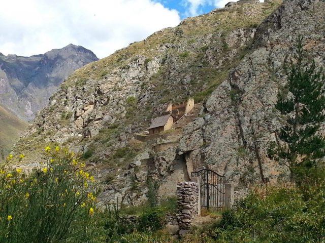 The Mountains around Ollantaytambo Village - going from Cusco to Ollantaytambo