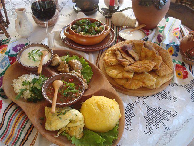 Delicious Romanian food