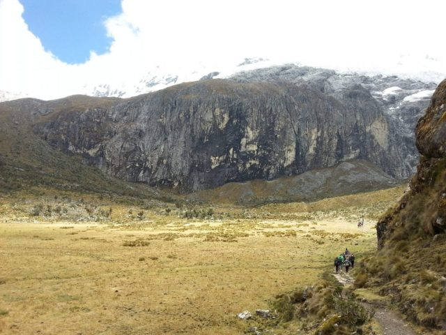 The Laguna 69 Trek Route in in the Cordillera Blanca Peru