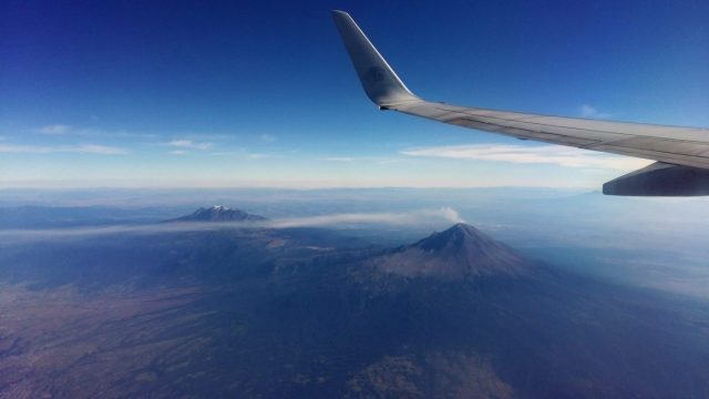 Flying Into Mexico City - Backpacking Mexico Travel Guide