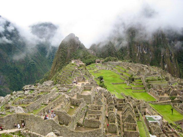 Huayna Picchu Behind Machu Picchu - One of the best hikes in Peru