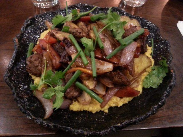 Lomo Saltado from Morena Peruvian Kitchen in Cusco