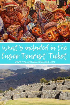If you are coming to Peru to visit Machu Picchu, you have probably heard people talk about the Boleto Turistico or Cusco Tourist Ticket. The Boleto Turistico Cusco ticket gives you access to several key sites in and around Cusco, so you can explore the Sacred Valley on just one ticket. #Peru #SouthAmerica #Cusco #BoletoTuristico #TouristTicket #Travel #MachuPicchu