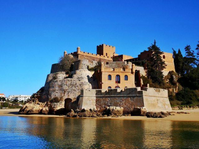 The Castle of Sao Joao do Arade in Portimao - Benagil Cave Boat Tour from Portimao