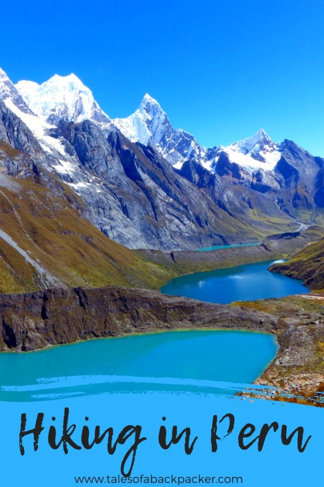 Peru is an incredibly diverse country which has some of the best hiking and trekking routes in the world.  Here you'll find everything you need to know about hiking in Peru, from where to find awe-inspiring multi-day Peru treks, top tips for hikes in Peru, what hiking equipment you might need, the best time to go hiking in Peru and vital information for the Inca Trail to Machu Picchu #Hiking #Peru #SouthAmerica #hikinginPeru #trekking #hikes #treks