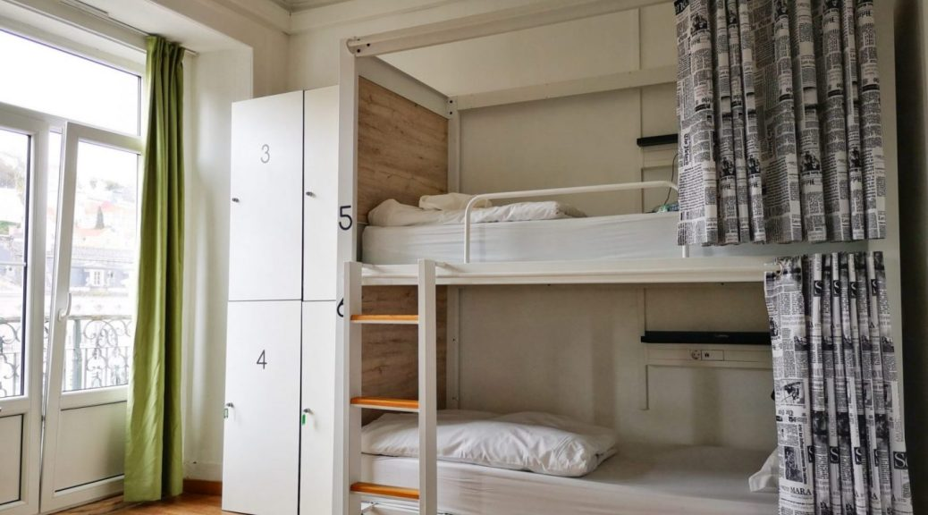 A Dorm Room at the Good Morning Hostel Lisbon