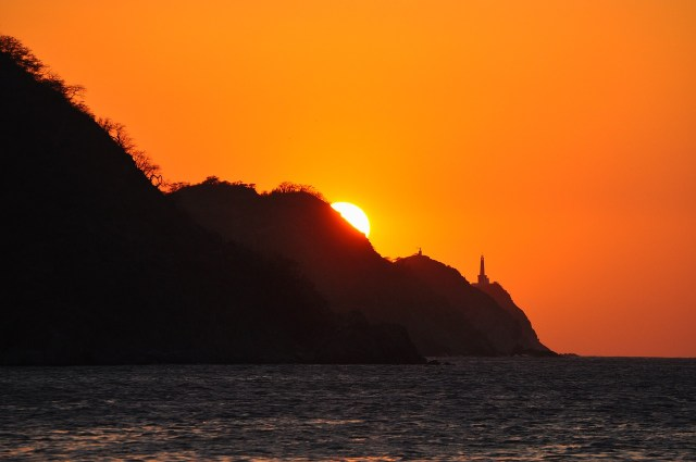 Sunset at Taganga Colombia - Accommodation in Parque Tayrona Colombia