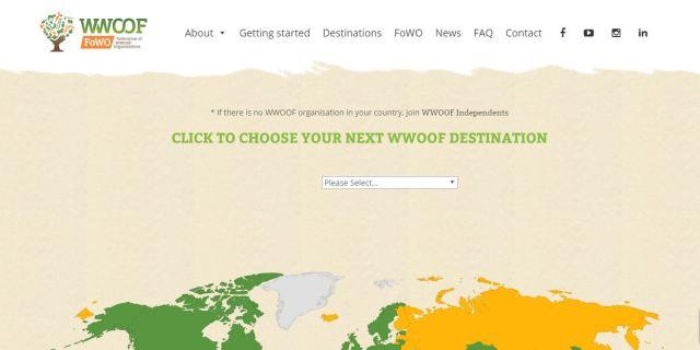 WWOOF Screenshot - Work Exchange Websites Like Workaway HelpX WWOOF