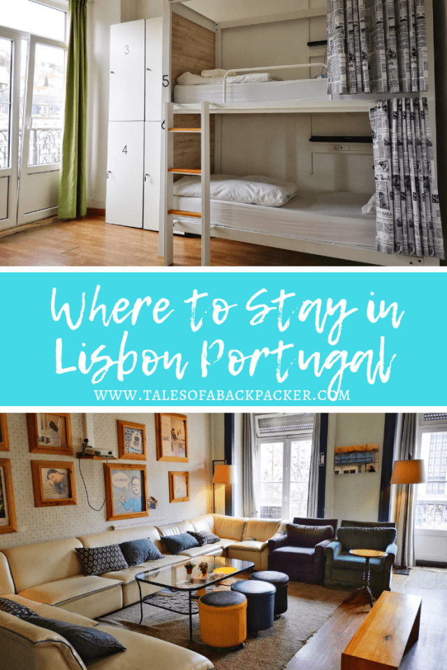 Hostels in Portugal are of an incredibly high standard.  There are some amazing hostels in Lisbon, to suit every taste, from luxury hostels to all-night parties.  After spending some lovely relaxed days in Evora I wanted a bit of excitement during my stay, and when Tatiana from Good Morning Hostel got in touch, I knew that I was going to have a great time in Lisbon.  Good Morning Hostel in Lisbon has a great reputation for being sociable, so I was looking forward to my stay and to meeting some fellow backpackers in Portugal.  Read on to see how I got on! #Portugal #Lisbon #Hostel #Accommodation #Backpacking #Backpackers #hotel