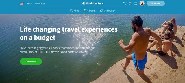 Worldpackers Screenshot - work and travel for free