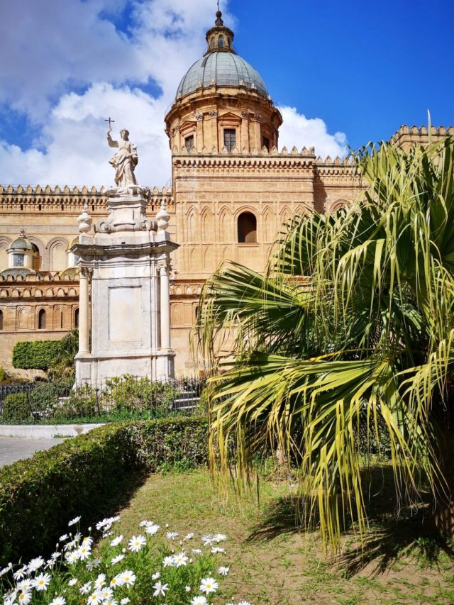 The Cathedral in Palermo Sicily
