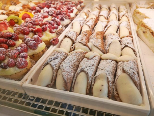 Canoli and other delicious desserts are a fitting last stop on the tour