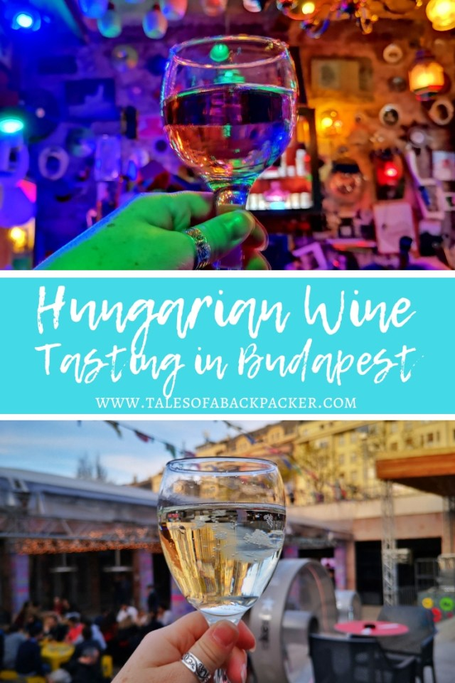 As I don't drink beer I was on the look-out for fun things to do in Budapest which don't involve beer, so I was thrilled when I came across a wine tasting in Budapest, which started just down the road from my hostel. I signed up on the Airbnb Experiences page for a Budapest Wine Tasting Tour with Urban Adventures, and here is my review of the tour together with all the drinks you should try on any wine tasting in Budapest! #Budapest #Hungary #WineTasting #Wine #HungarianWine #WombatsTraveller