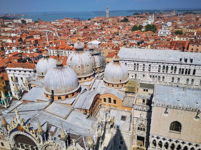 St Marks Basilica from the Bell Tower