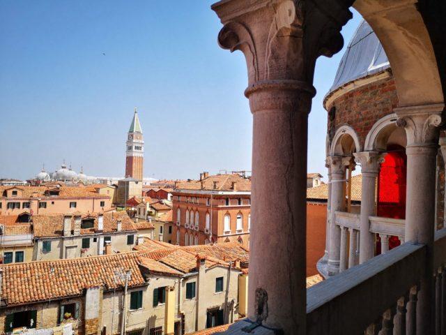 The view from the theScala Contarini del Bovolo