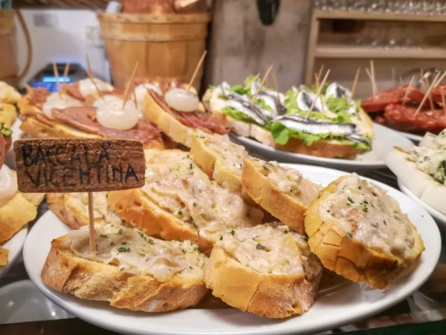 Cicchetti - What to eat in Venice on a Budget