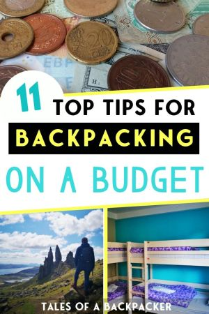 11 Top Tips for Backpacking on a Budget