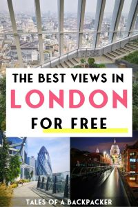 The Best Views in London for Free