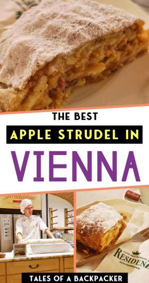 The Best Apple Strudel in Vienna
